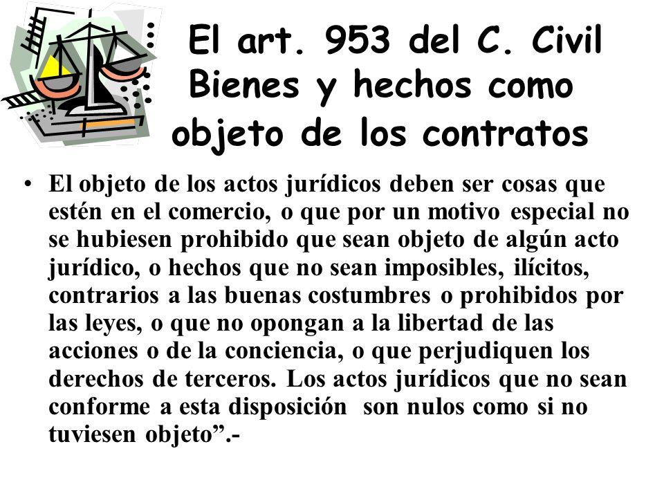 El objeto, el contenido y los efectos del contrato Objeto:Operación jurídica considerada Contenido está constituido por los fines prácticos que las pa