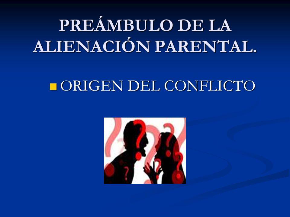 ¿TODO COMPORTAMIENTO O ACTITUD DE UN PADRE QUE SE EXPRESA EN FORMA NEGATIVA RESPECTO DEL OTRO ES ALIENACIÓN PARENTAL?