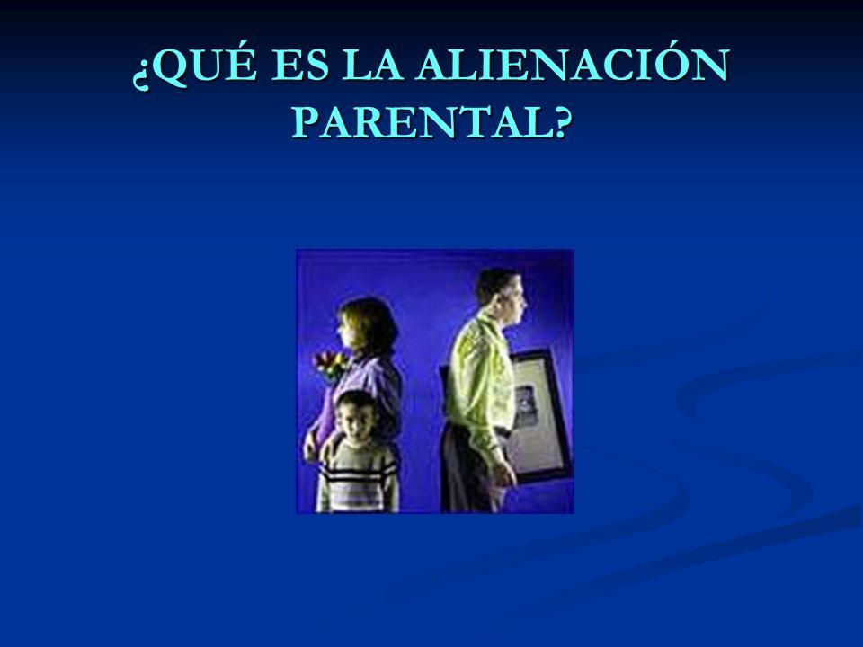 Los progenitores alienantes no suelen ser conscientes del daño psicológico que supone a sus hijos la pérdida del otro progenitor.