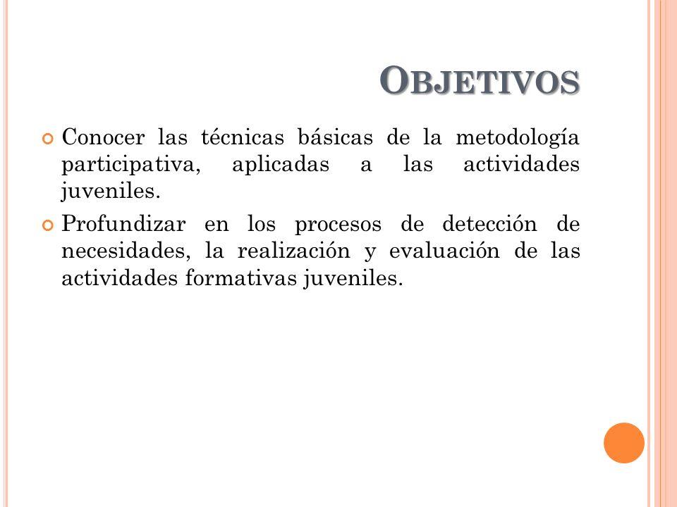 P ROGRAMACIÓN - T EMPORALIZACIÓN Metodología de la Intervención social: Diseño de la Intervención.