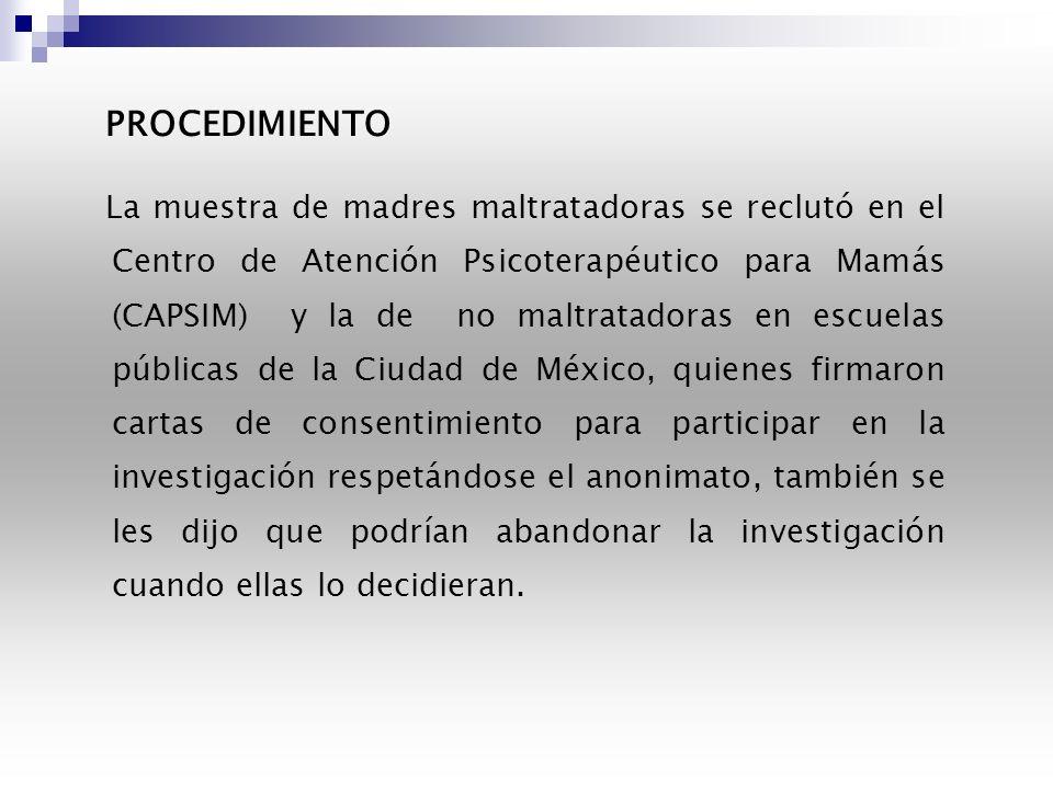 INSTRUMENTOS Se utilizó el Inventario de la Personalidad Minnesota (MMPI-2), versión traducida al español (Lucio y Reyes, 1994) por ser una prueba de