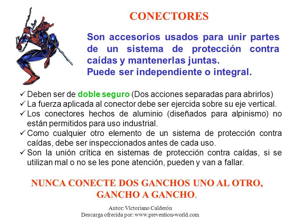 Autor: Victoriano Calderón Descarga ofrecida por: www.prevention-world.com Deben ser de doble seguro (Dos acciones separadas para abrirlos) La fuerza