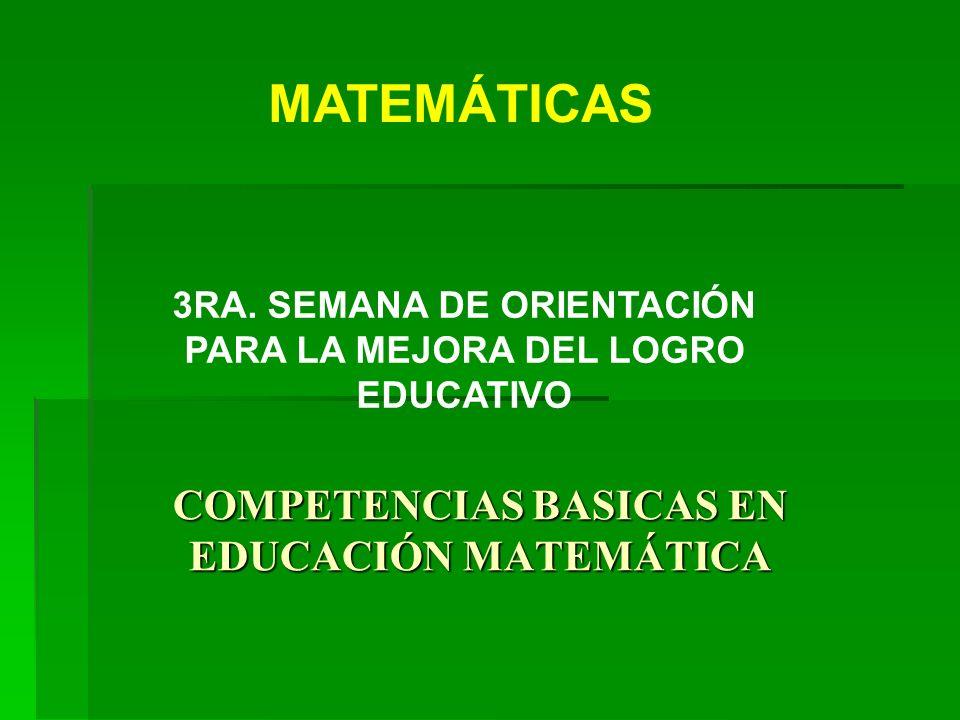 2 Adaptación al medio Adaptación al medio Autonomía intelectual Autonomía intelectual Participación en la Cultura Matemática Participación en la Cultura Matemática La Matemática puede y debe contribuir a la: