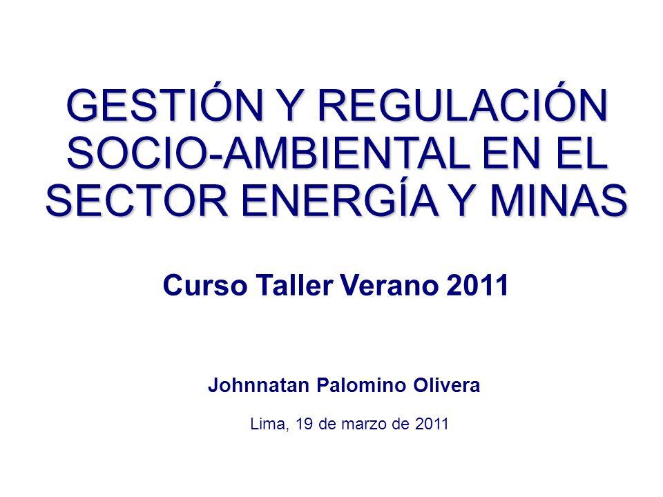 3º TEMA ALCANCES SOBRE EL MARCO NORMATIVO GENERAL APLICABLE A LOS PROCESOS DE PARTICIPACIÓN CIUDADANA EN EL SECTOR ENERGÍA Y MINAS