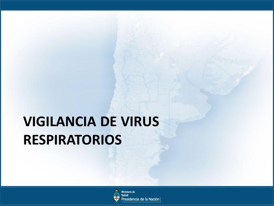 VIGILANCIA DE VIRUS RESPIRATORIOS