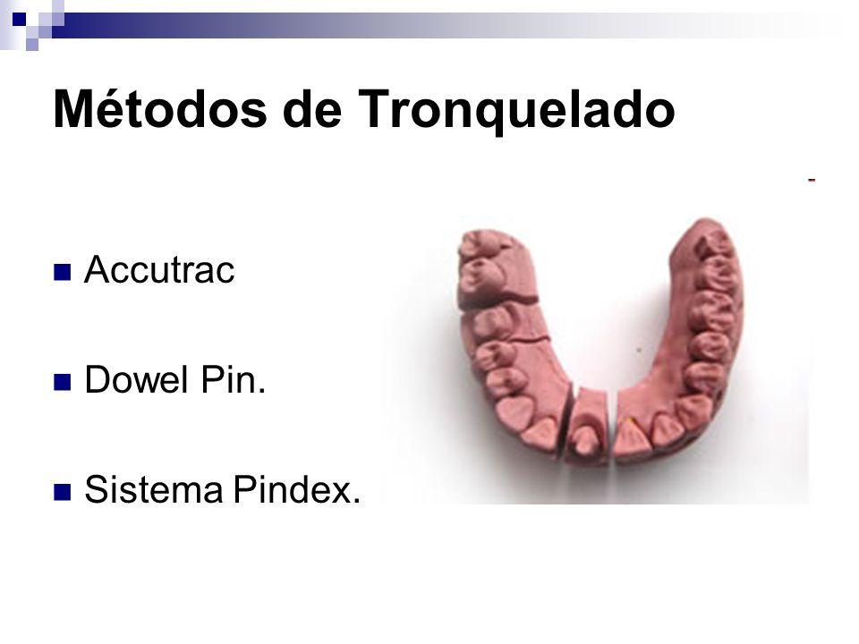 Métodos de Tronquelado Accutrac Dowel Pin. Sistema Pindex.