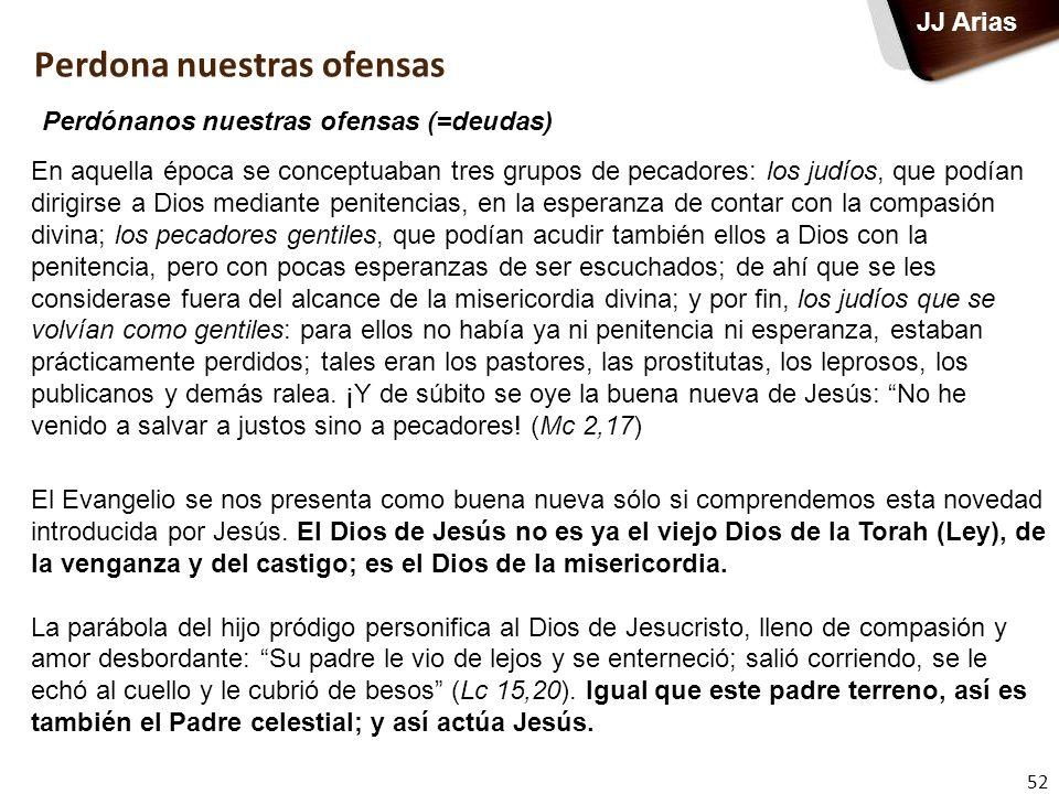 52 JJ Arias En aquella época se conceptuaban tres grupos de pecadores: los judíos, que podían dirigirse a Dios mediante penitencias, en la esperanza d