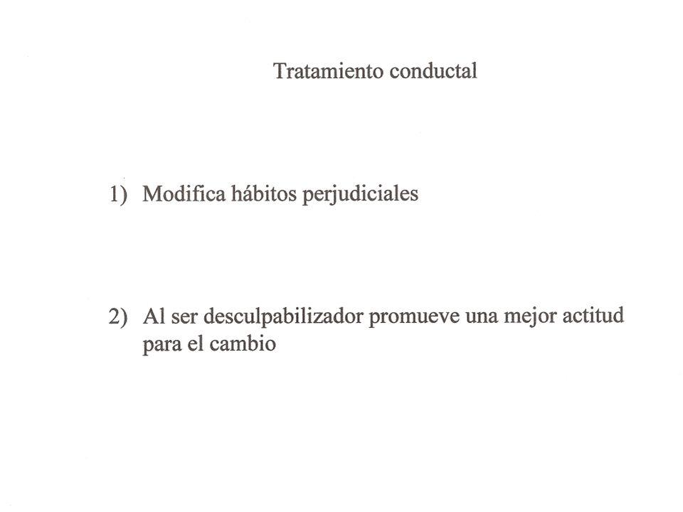 El automonitoreo, detallado y diario, es el pilar del tratamiento conductal.