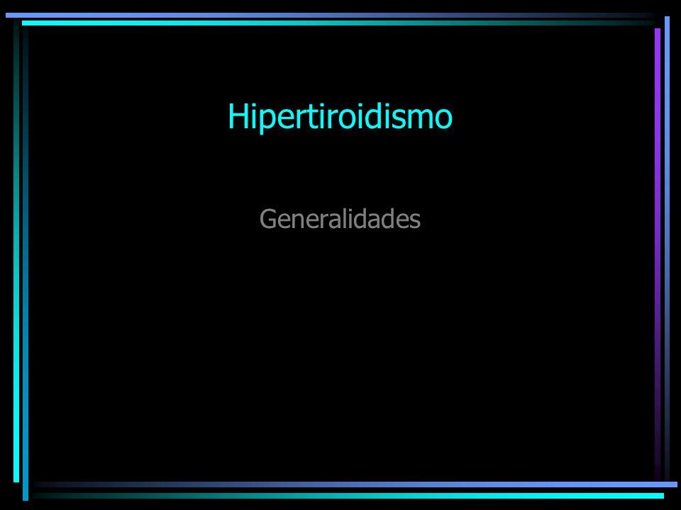 Definiciones: Tirotoxicosis: Manifestaciones clínicas y bioquímicas asociadas a las cantidades excesivas de hormonas tiroideas, no necesariamente originadas en la glándula tiroides.