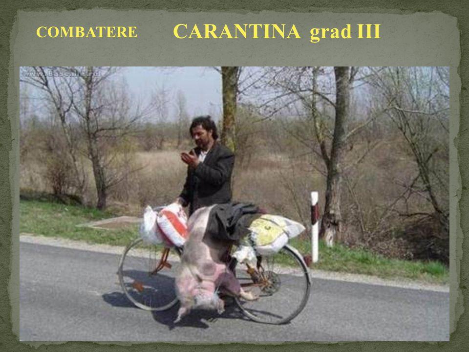 COMBATERE CARANTINA grad III