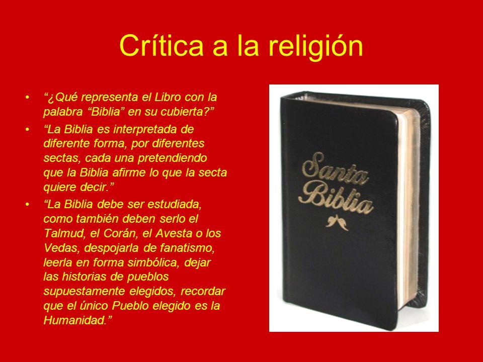 La Obra y el Libro Sin embargo, el Libro, independientemente que se trate de la Biblia u otro, ha sido tomado en numerosas oportunidades como una metáfora de la Obra.