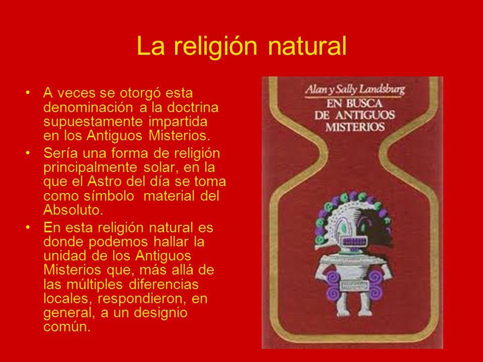 La religión natural Pike creyó que el origen de esta religión natural se hallaba en que algunos pueblos antiguos, en su opinión, habían alcanzado un conocimiento profundo de la Vida y del Universo.