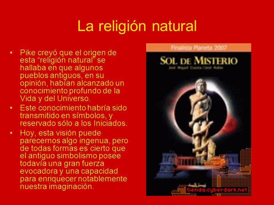 La religión natural Las divinidades mitológicas de esta «religión» natural, como dijimos, estaban asociadas al Sol, y eventualmente a la Luna, la Tierra o los planetas.