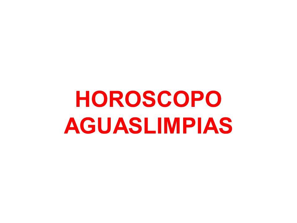 HOROSCOPO AGUASLIMPIAS