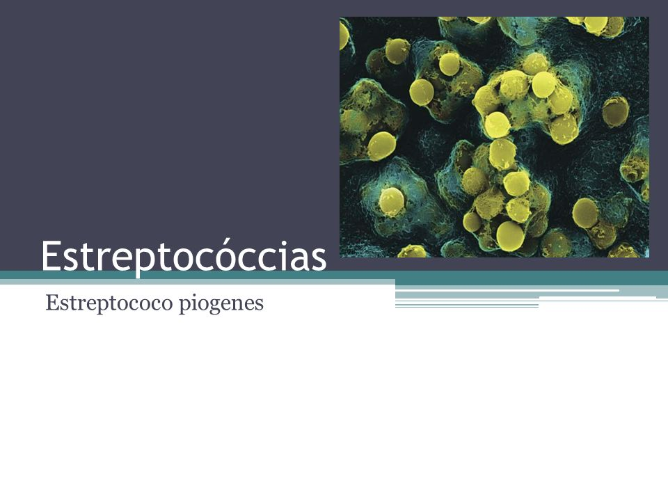 Estreptocóccias Ampollares Ectima Impétigo Eritematosas Ericipela Celulitis aguda Celulitis necrotizante Linfangitis aguda Escarlatina Eritrodermia estreptocóccica Fisuradas Queilitis angular (boquera) Intertrigo