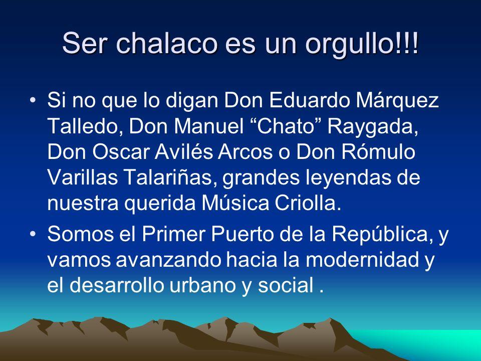 Mi familia es Chalaca!!.