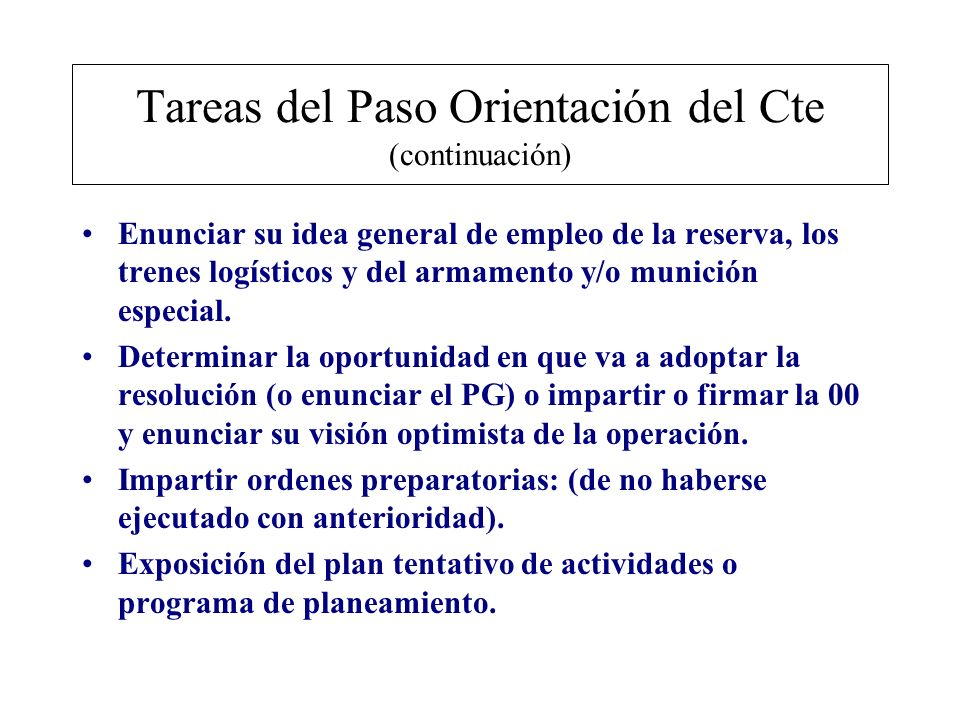 Objetivo Nro 5 Tarea: Realizar las tareas del SEM del paso Análisis de la Situación de la Primera Etapa del PPC.