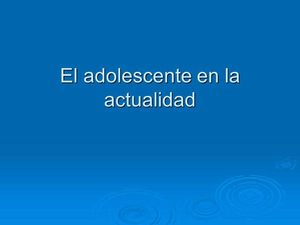 ADOLESCENCIA La adolescencia es un fenómeno: La adolescencia es un fenómeno: Biológico Biológico Cultural Cultural Social Social Por lo tanto sus límites no se asocian solamente a características físicas.