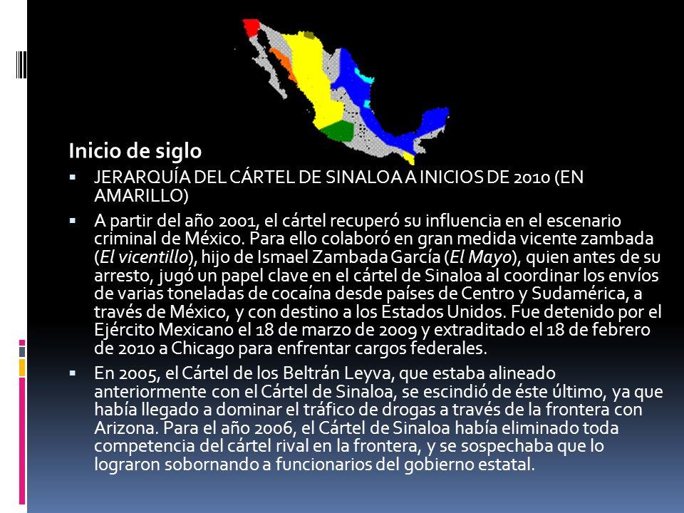 En enero de 2008, el cártel supuestamente se dividió en varias facciones en lucha, debido a la epidemia de violencia que México ha visto en los últimos años.