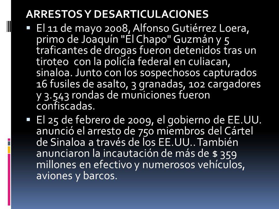 En marzo de 2009, el Gobierno mexicano anunció el despliegue de 1.000 oficiales de Agencia Federal de Investigación (México) y 5.000 soldados del Ejército Mexicano para restablecer el orden en Ciudad Juárez, que ha sufrido el mayor número de víctimas en el país.