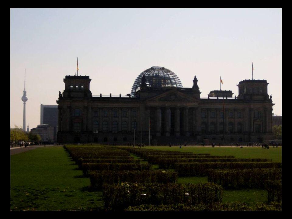 El Reichstag, sede de la Cámara Baja del Parlamento alemán.