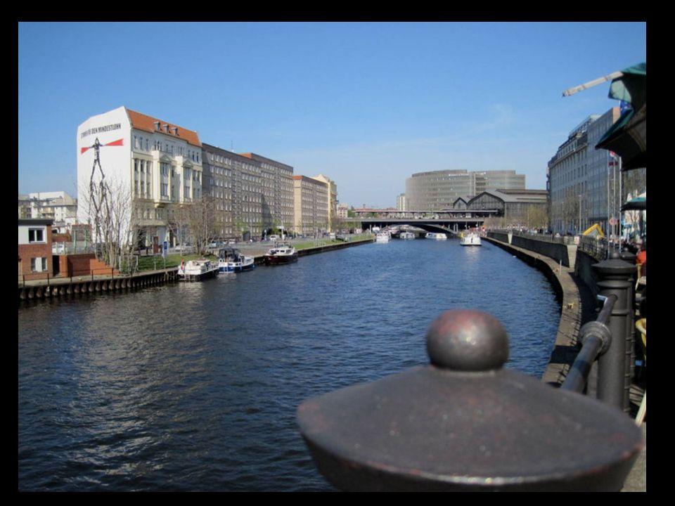 Navegando en el río Spree