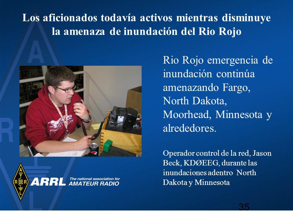 Los aficionados todavía activos mientras disminuye la amenaza de inundación del Rio Rojo Rio Rojo emergencia de inundación continúa amenazando Fargo,