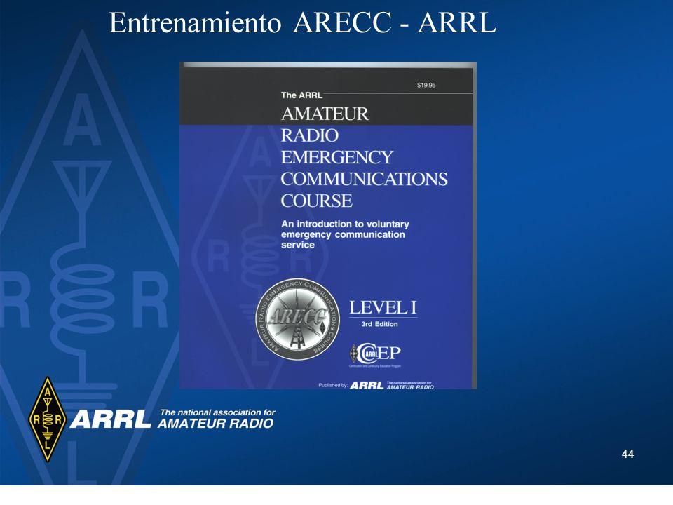 44 Entrenamiento ARECC - ARRL