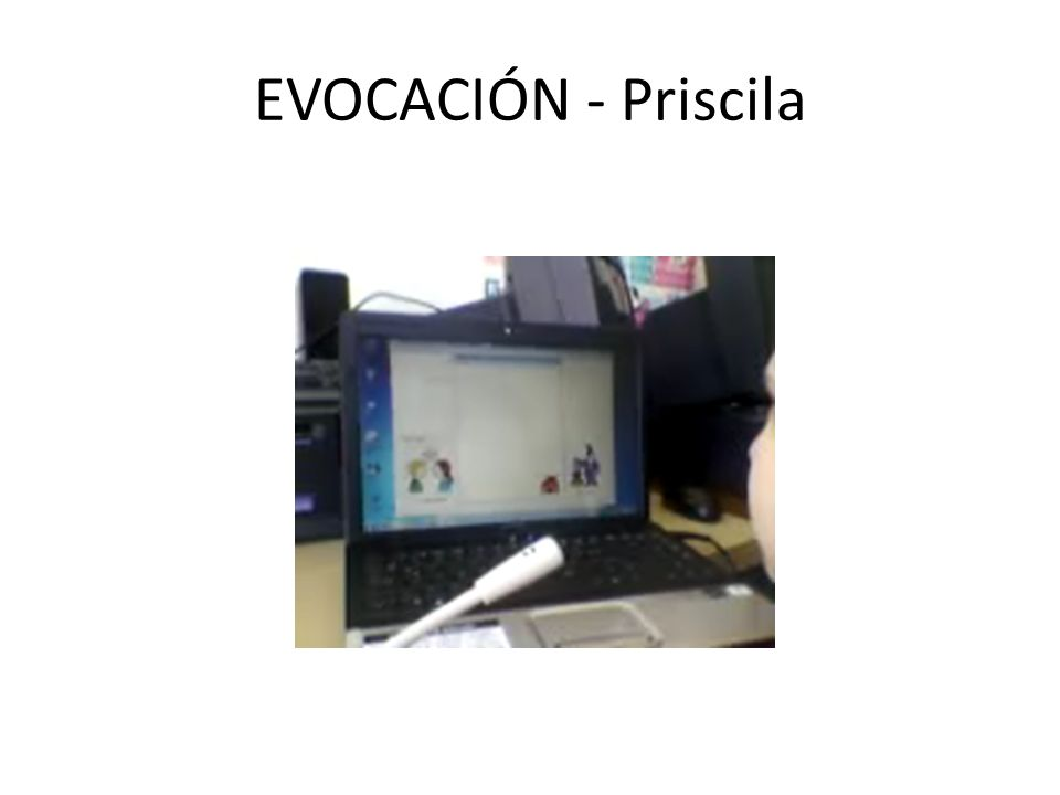 EVOCACIÓN - Priscila