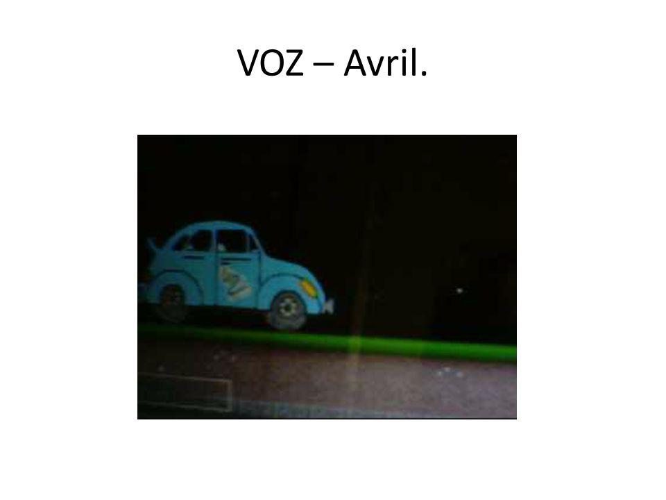 VOZ – Avril.