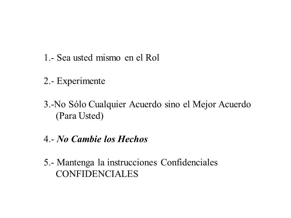 Negociaciones - Dr.J. Muro Arbulú 37 © Harvard Negotiation Project II.