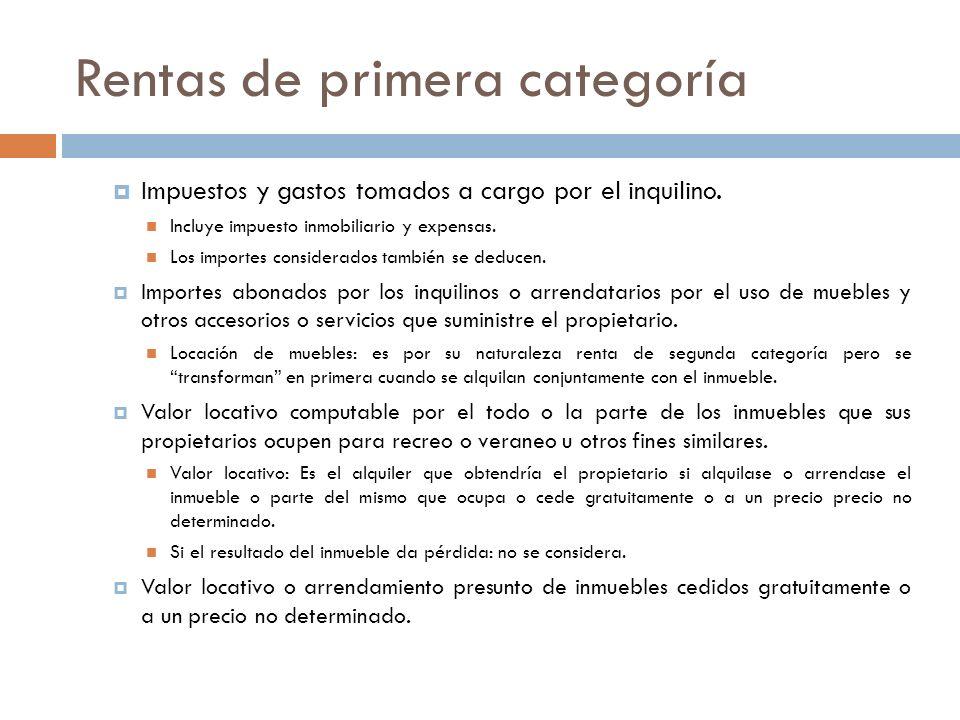 Rentas de segunda categoría Cuotas partes de fondos comunes de inversión cerrados Disposición Personas físicas del país: Exentos (art.