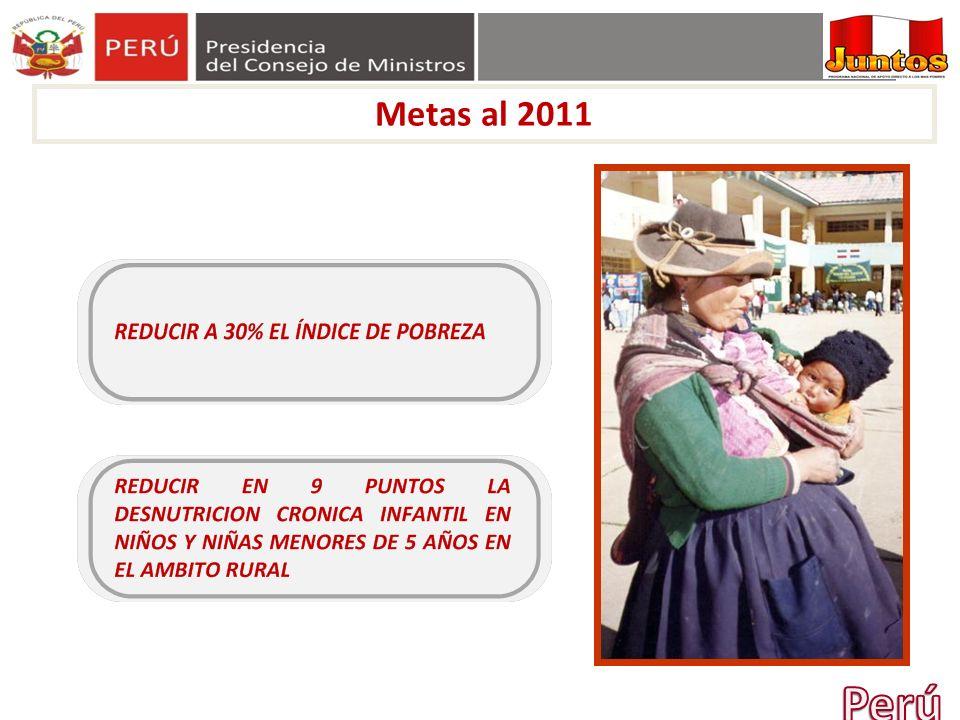 56 INCREMENTO DE MATRICULA A INSTITUCIONES EDUCATVAS A mayor permanencia del Programa se incrementa la matricula de niños en las escuelas * Fuente: Welfare impacts of the Juntos Program in Peru: Evidence from a non-experimental evaluation: 2005-2009.