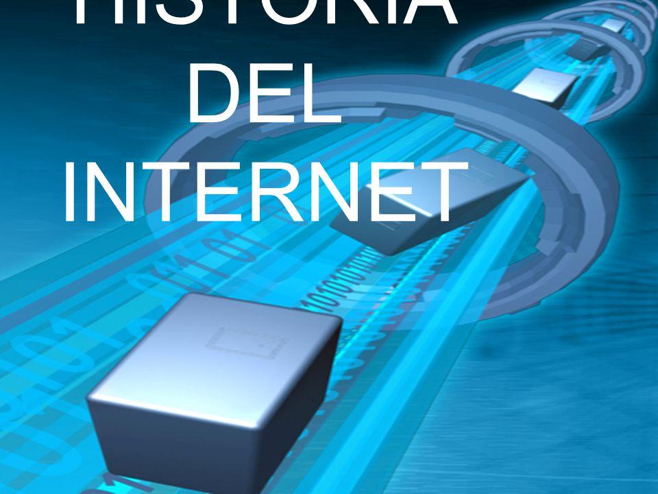 ANTECEDENTE DEL INTERNET 1876 Alexander Graham Bell inventó el teléfono.