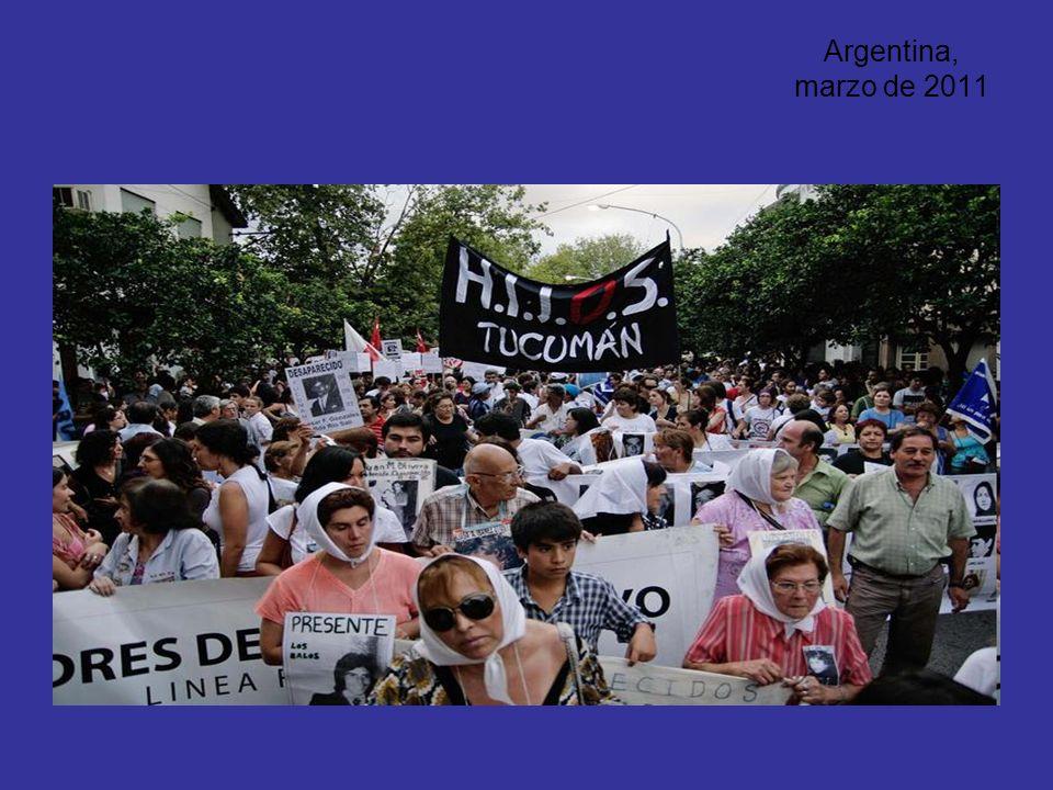 Argentina, marzo de 2011