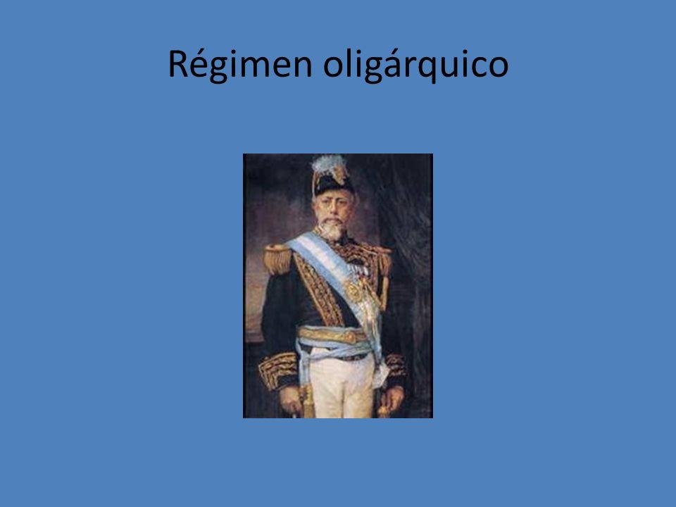 Régimen oligárquico