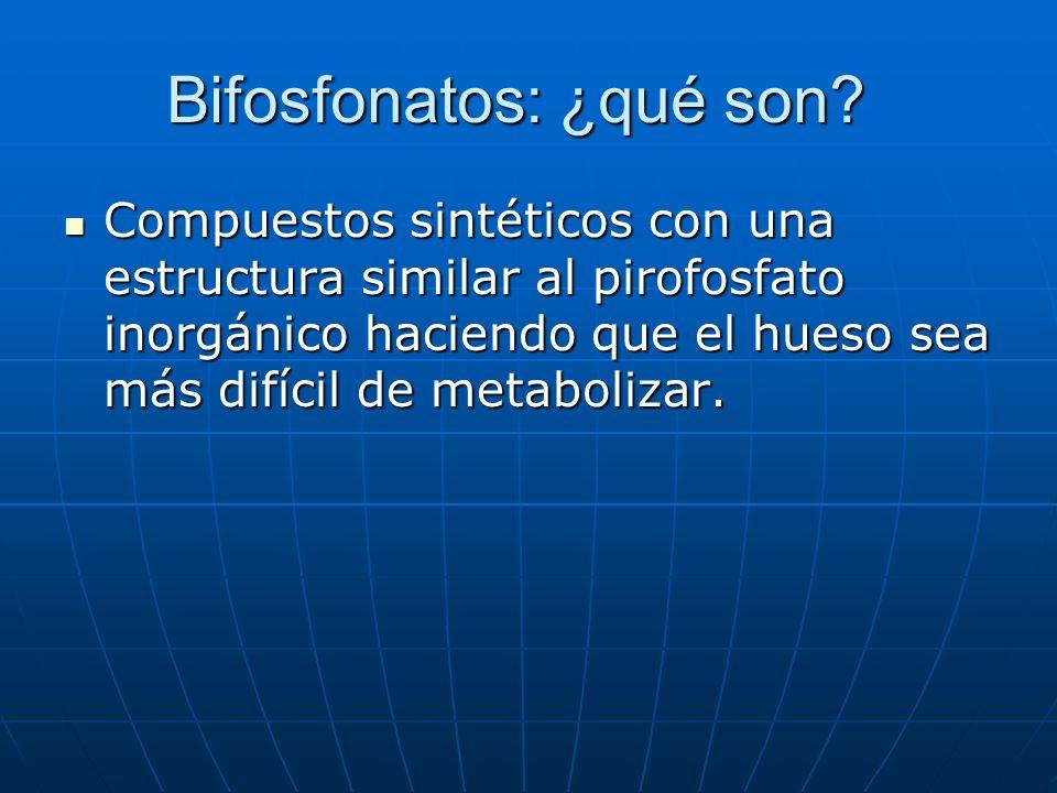 Bifosfonatos ¿Cómo actúan.