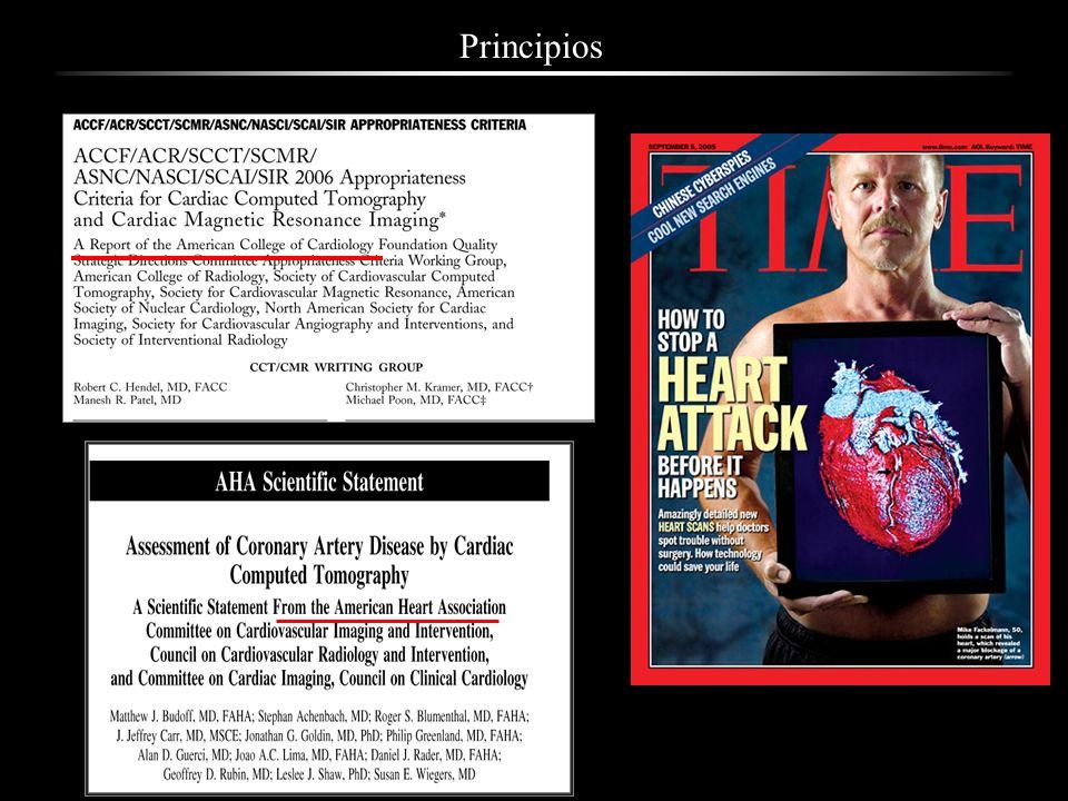 Un estudio de imagen es apropiado cuando la información aportada, combinada con el juicio clínico, es superior a las consecuencias negativas: Riesgo del procedimiento, falsos negativos, falsos positivos.