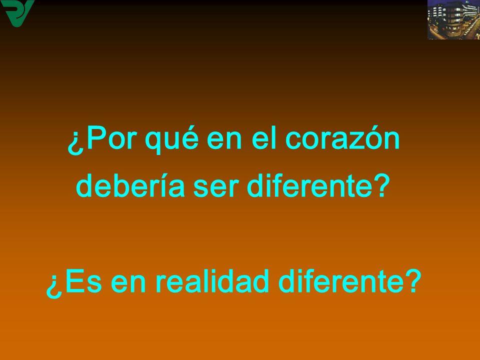 ¿Por qué en el corazón debería ser diferente? ¿Es en realidad diferente? ¿Por qué en el corazón debería ser diferente? ¿Es en realidad diferente?