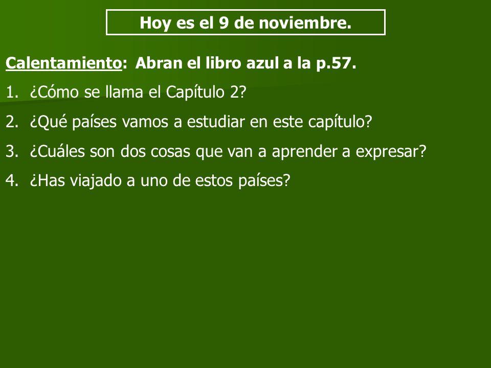 Tarjetas – Vocabulario – Capítulo 2, Cultura Frente: 1.La palabra en español 2.La parte de la oración Atrás: 1.La palabra en inglés 2.Una oración creativa con la palabra 3.Un dibujo simple de la palabra o la oración