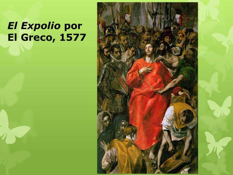 El Expolio por El Greco, 1577