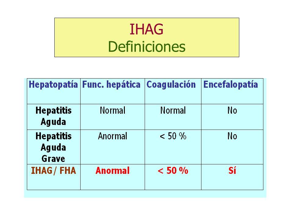IHAG Definiciones