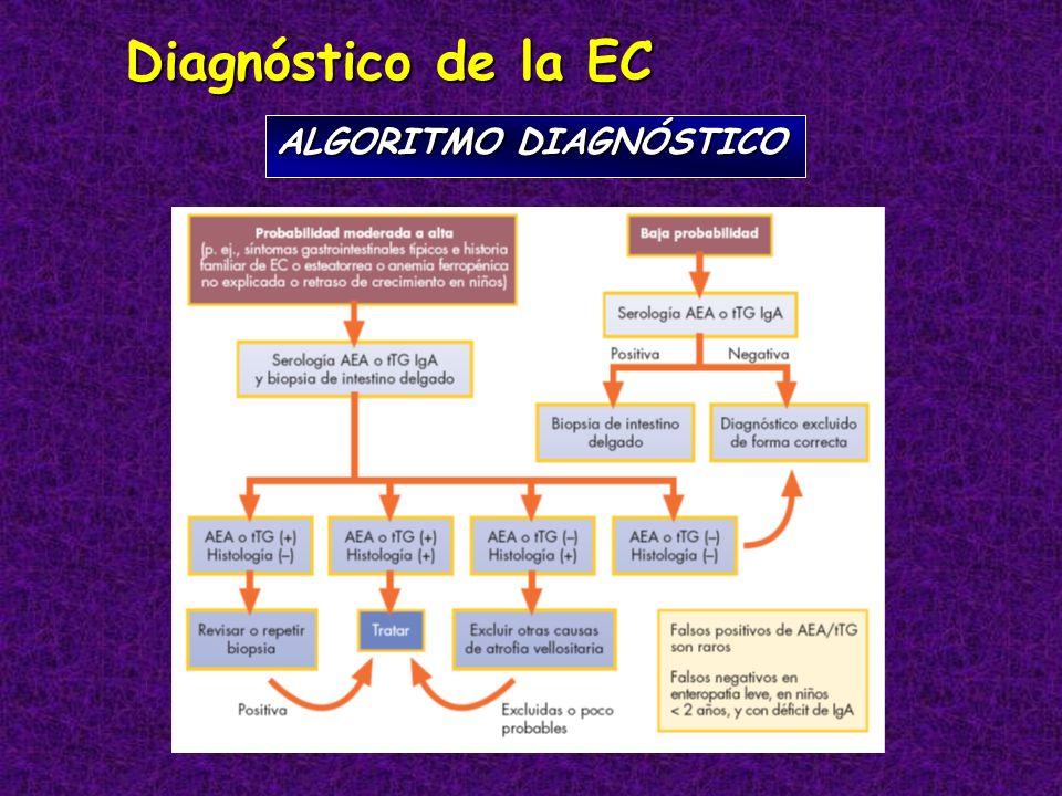 Diagnóstico de la EC ALGORITMO DIAGNÓSTICO
