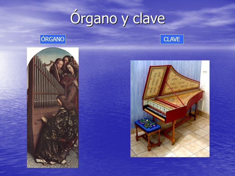 Órgano y clave <> ÓRGANO CLAVE