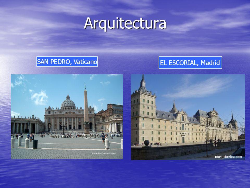 Arquitectura SAN PEDRO, Vaticano EL ESCORIAL, Madrid