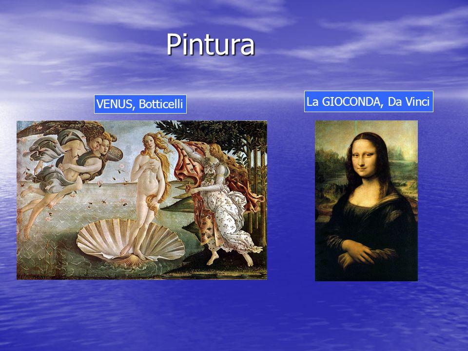 Pintura VENUS, Botticelli La GIOCONDA, Da Vinci