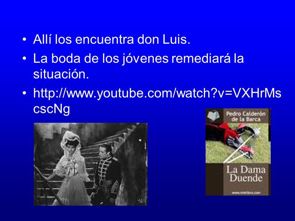 La dama duende Reúne las características de las comedias de capa y espada. Don Manuel que se aloja en casa de su amigo don Luis recibe regalos y mensa