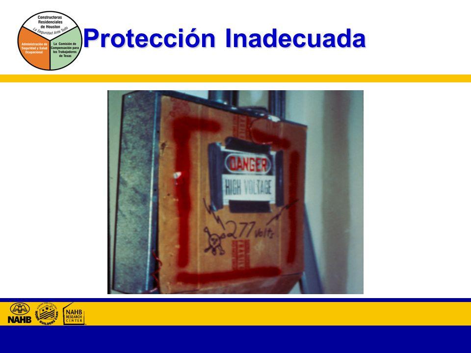 Protección Inadecuada