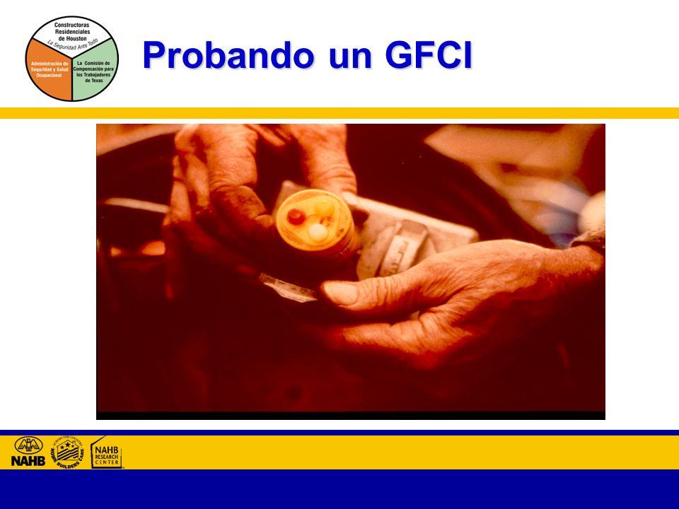 Probando un GFCI