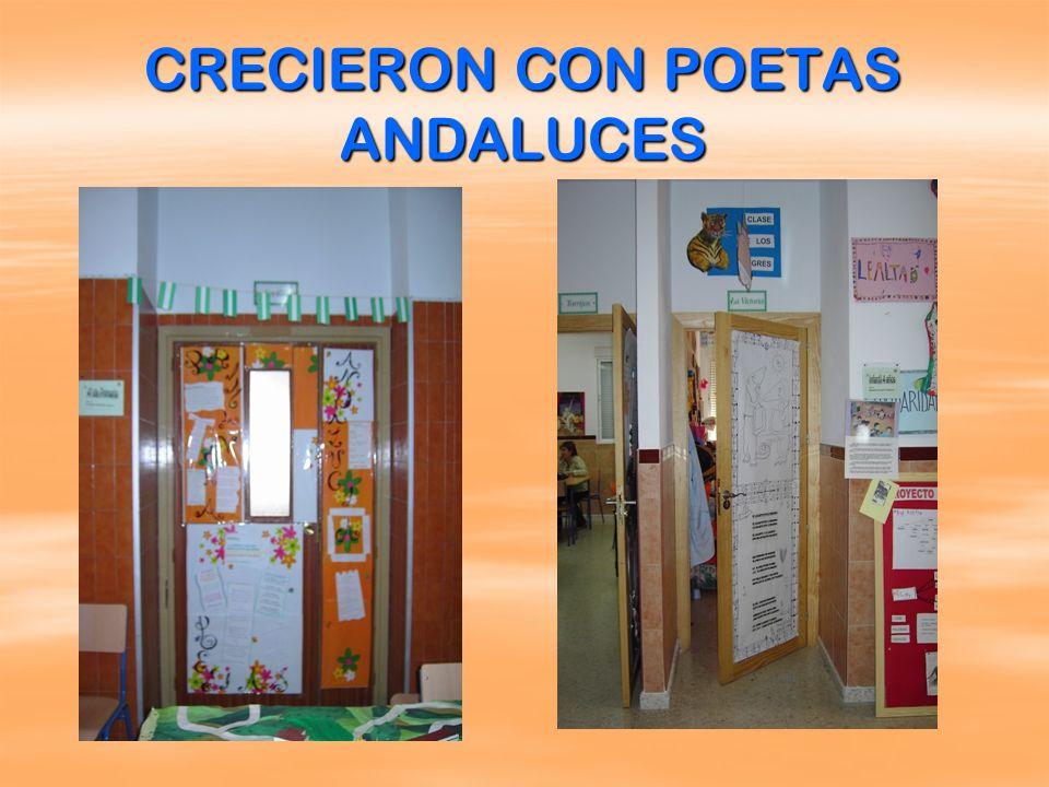 CRECIERON CON POETAS ANDALUCES